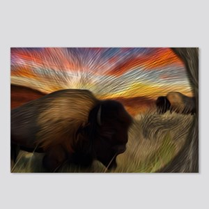 Buffalo Grass Dance Postcards (Package of 8)