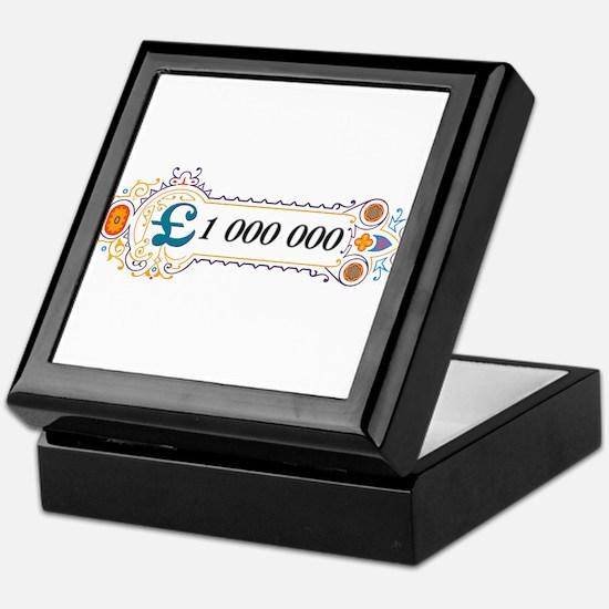 1 000 000 Pounds 2 Keepsake Box