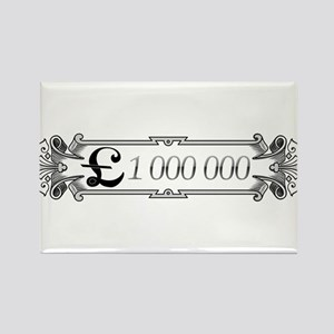 1 000 000 Pounds 3 Rectangle Magnet (10 pack)