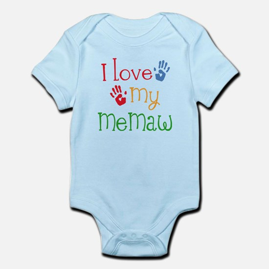 I Love My Memaw Infant Bodysuit