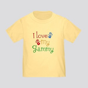 I Love My Gammy Toddler T-Shirt