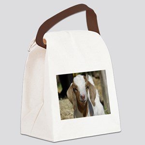 Cutie Kid Goat Canvas Lunch Bag