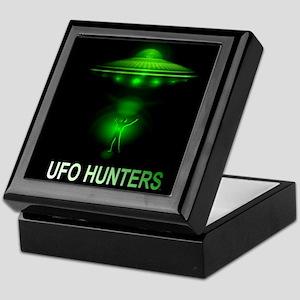 ufo hunters Keepsake Box