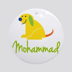 Mohammad Loves Puppies Ornament (Round)