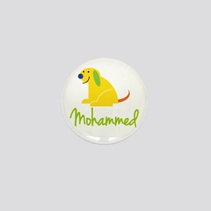 Mohammed Loves Puppies Mini Button