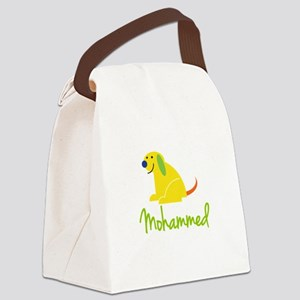 Mohammed Loves Puppies Canvas Lunch Bag