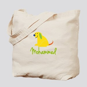 Mohammed Loves Puppies Tote Bag