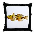 Pacific Sculpin fish Throw Pillow