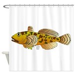 Pacific Sculpin fish Shower Curtain