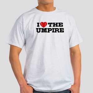 I Love The Umpire Light T-Shirt