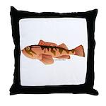 Cabazon Rockfish Scorpionfish Throw Pillow