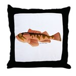 Cabazon Rockfish Scorpionfish Throw Pillow