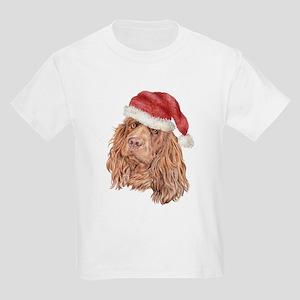 Christmas Sussex Spaniel Kids T-Shirt