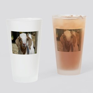 Cutie Kid Goat Drinking Glass