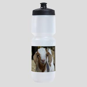 Cutie Kid Goat Sports Bottle