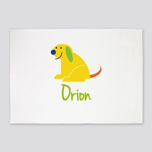 Orion Loves Puppies 5'x7'Area Rug