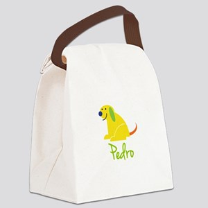 Pedro Loves Puppies Canvas Lunch Bag