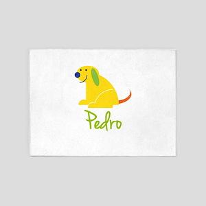 Pedro Loves Puppies 5'x7'Area Rug