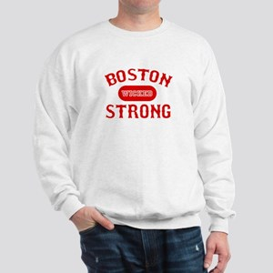 Boston Wicked Strong - Red Sweatshirt