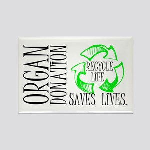 Recycle Life Rectangle Magnet