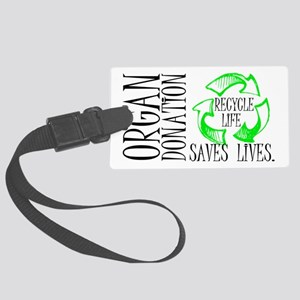 Recycle Life Large Luggage Tag