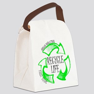 Recycle Life Canvas Lunch Bag