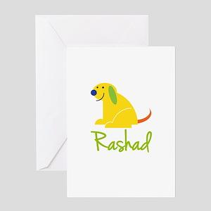 Rashad Loves Puppies Greeting Card