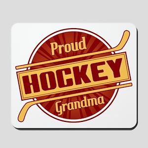 Proud Hockey Grandma Mousepad