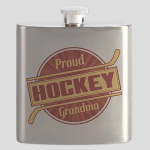 Proud Hockey Grandma Flask
