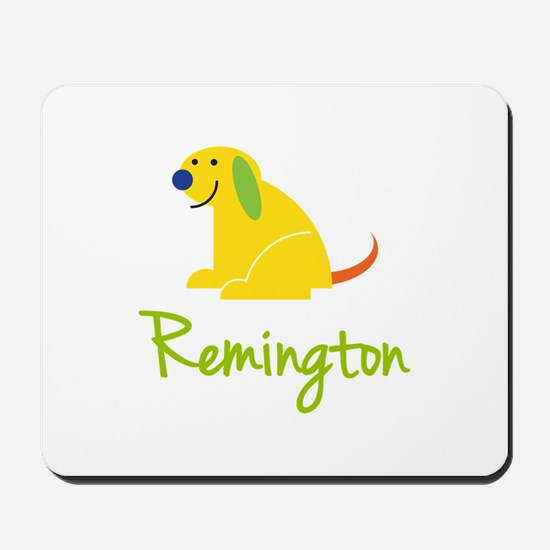Remington Loves Puppies Mousepad