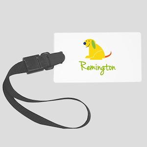 Remington Loves Puppies Luggage Tag