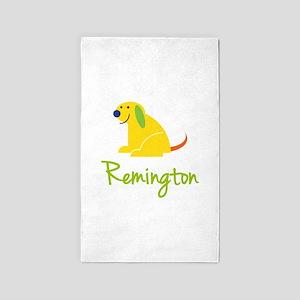 Remington Loves Puppies 3'x5' Area Rug
