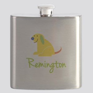 Remington Loves Puppies Flask