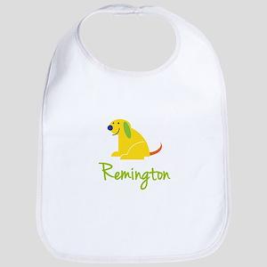 Remington Loves Puppies Bib