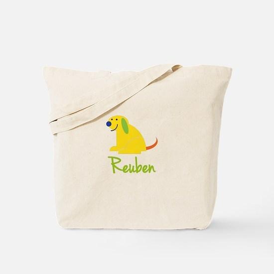 Reuben Loves Puppies Tote Bag