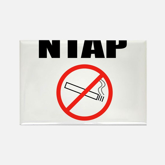 NTAP NEVER TAKE ANOTHER PUFF NO SMOKING Rectangle