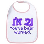 I'm 2 - You've Been Warned! Bib