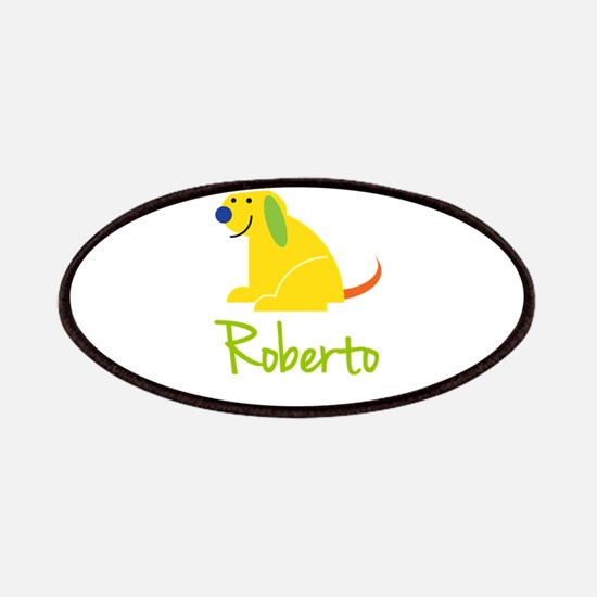 Roberto Loves Puppies Patches