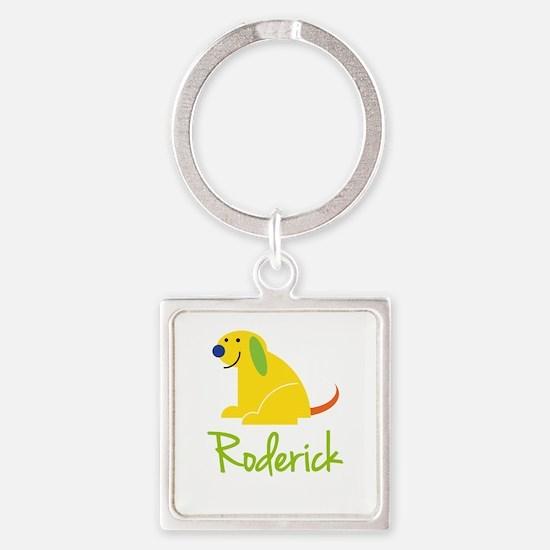Roderick Loves Puppies Keychains