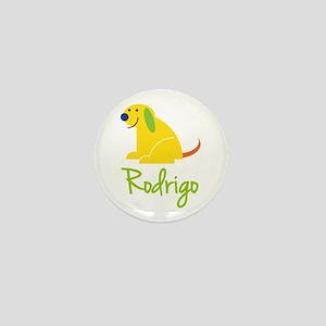 Rodrigo Loves Puppies Mini Button