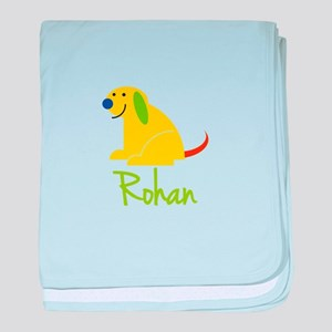 Rohan Loves Puppies baby blanket
