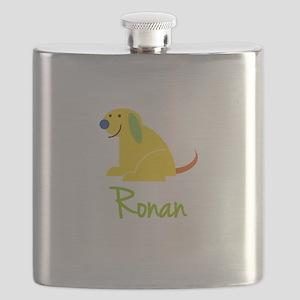 Ronan Loves Puppies Flask