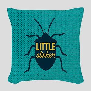 Little Stinker Woven Throw Pillow