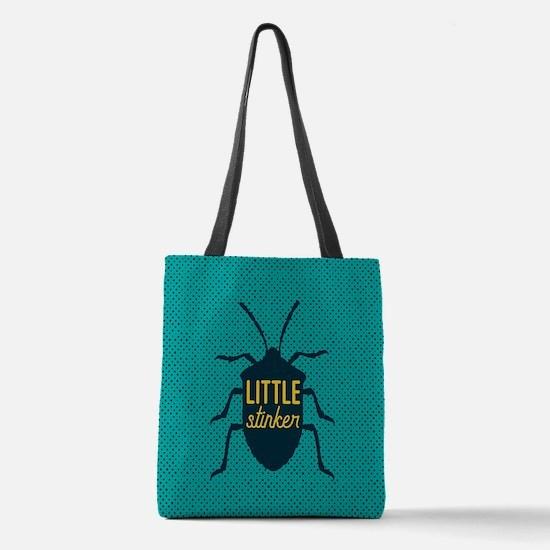 Little Stinker Polyester Tote Bag