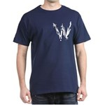 Wasted, Inc. Logo Navy/White T-Shirt