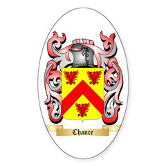Chance Sticker (Oval 10 pk)