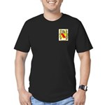 Chanal Men's Fitted T-Shirt (dark)