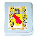 Chanal baby blanket