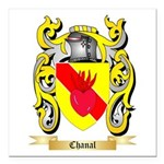 Chanal Square Car Magnet 3
