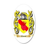 Chanal 35x21 Oval Wall Decal